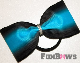 Budget  Custom Ombre tailless Cheer Bow by Funbows - Cheer - softball - Rec