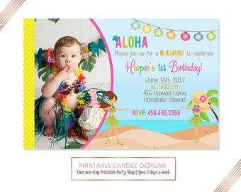Island invitation etsy luau pool party invitation luau birthday invitation tropical invite hawaiian party beach party invite stopboris Image collections
