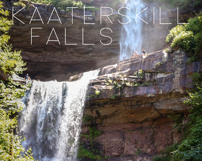 POSTCARD - Kaaterskills Falls, The Catskill Moutains