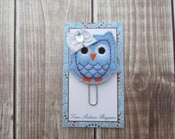 Owl Planner Clip, Paper Clip, Owl Paper Clip, Planner Clip, Bookmark, Planner Accessory
