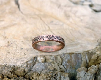 10 plus, Copper Ring, Arthritis Ring, Copper Jewelry, Adjustable Ring, Mens copper Ring - Womens copper Ring - Rustic copper Ring - USA