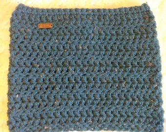 Crochet Cowl/ Neck warmer Chunky Yarn, Ready to ship
