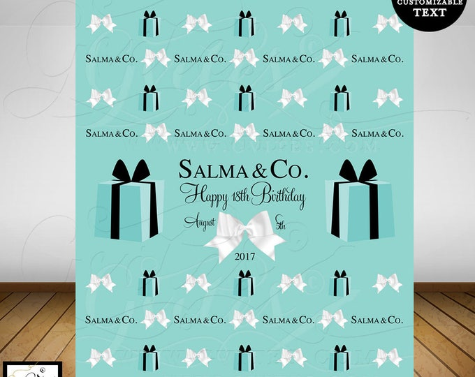 Step & Repeat Backdrops. Bride and Co. Birthday, Baby Shower. Digital file only! Design Fees Read Item Details below!