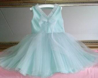 Bridesmaid flower girl wedding party dress size 98