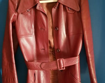 Ledaspain by Gropper Vintage Leather Jacket
