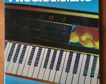 Synthesizer Programming Book - 1987 Keyboard Magazine - Out of Print - Digital Synthesizer, Analog Synthesizer, Vintage Synth