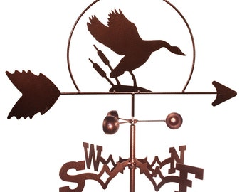 Hand Made Goose Geese Weathervane NEW