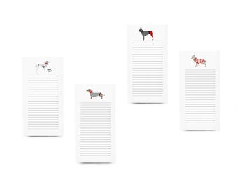 Assorted Dogs Notepad Pack
