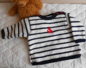 Sailor sweater size 6 months