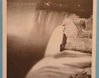 Goat Island, #NiagaraFalls, NY - American Falls, Vintage Postcard, Circa 1917