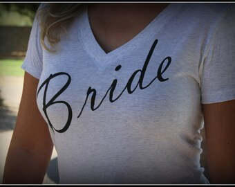 Bride Shirt, Wifey Shirt, Bridal Shirt, Bridal Shower Gift, Wedding, Bachlorette Gift, Bride To Be, Classy Fitted Shirt