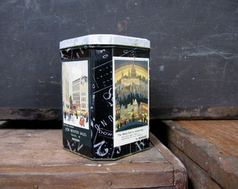 London Underground Tin - London Underground - Vintage Tin - Decorative Tin - Collectible Tin - Octagonal Tin - London Tin - London Transport