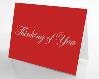 Love Card: Thinking of you....Naked.