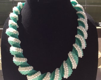 Peyote Beaded Necklace