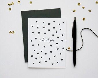 Love Card - I Heart You