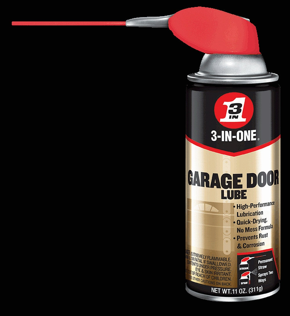 3 In One Garage Door Spray Lube Aerosol Spray Oil Lubricant For