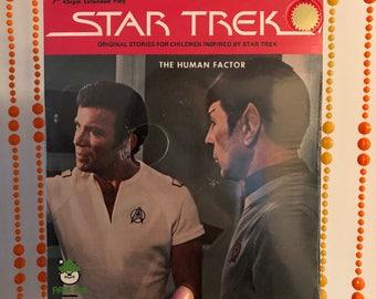 Vintage STAR TREK Original Stories 'The Human Factor' Record