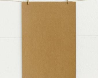 Kraft card stock etsy a4 natural kraft 50pk 180gsm card stock cardboard board bulk pack reheart Gallery