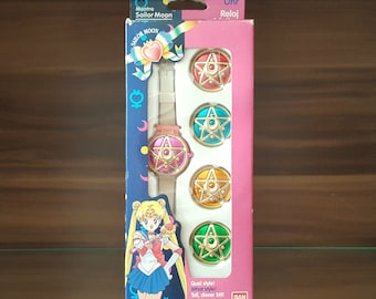 Sailor Moon Communicator Watch European Version Very Rare from 1992 / 1993