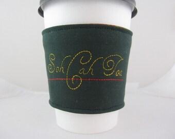 Soh Cah Toa Coffee Cozy