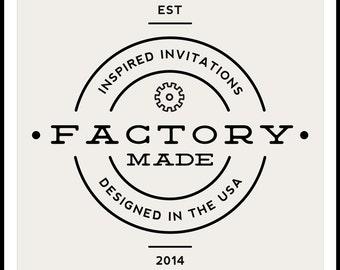 Invitation Sample - Choose Any Sample Invitation! - Factory Made Weddings