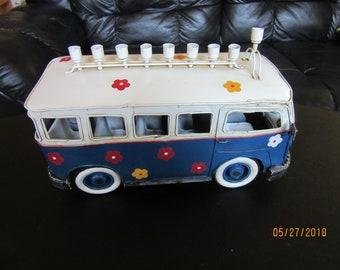1960's Vintage Bus Menorah