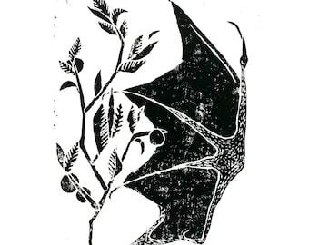 Bat wing Print