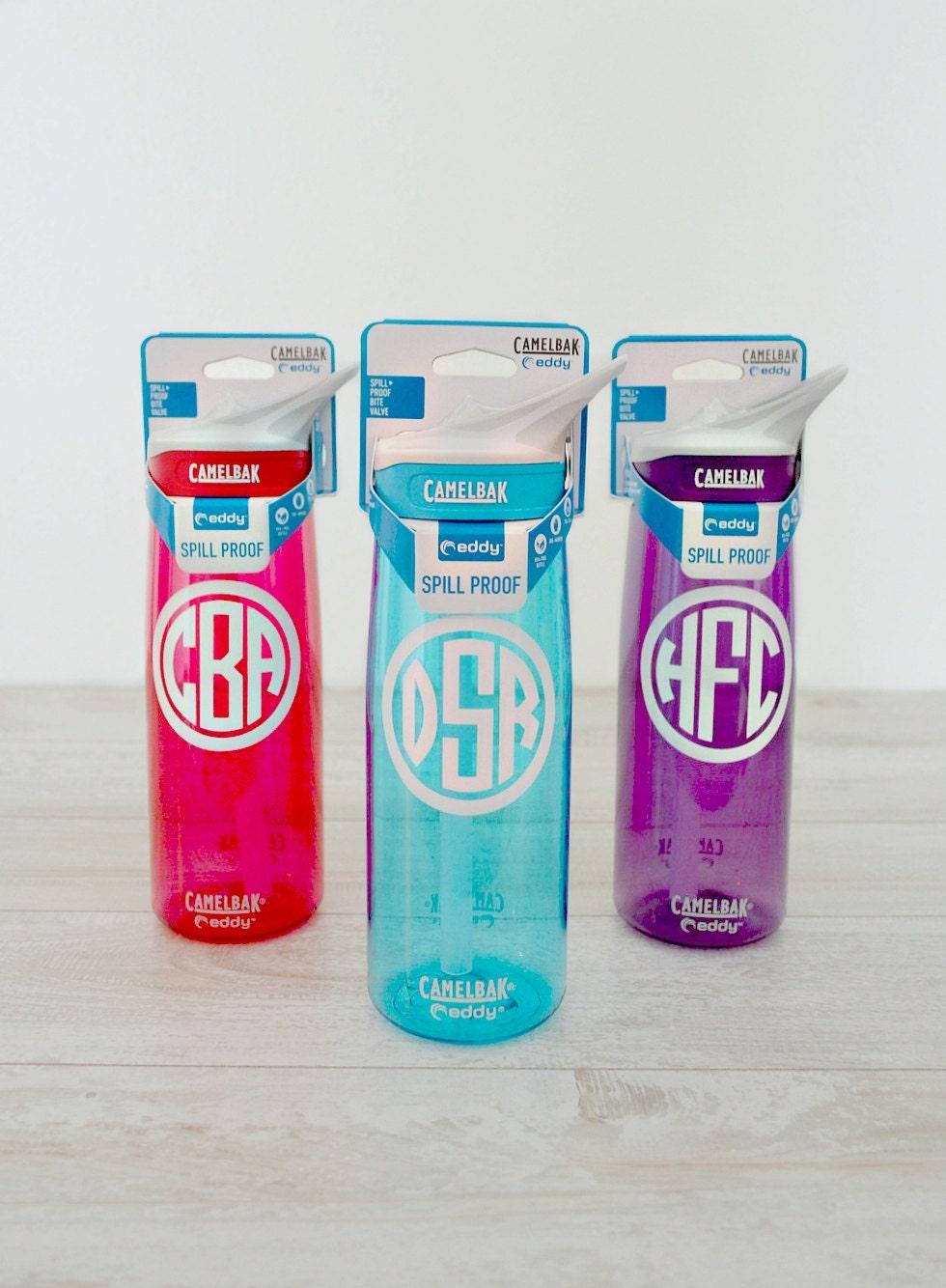 monogrammed camelbak water bottle