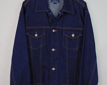 Vintage Dark Denim Jacket