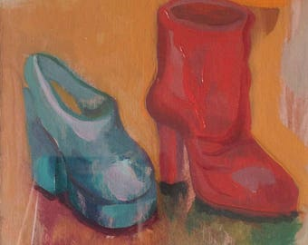 Red Shoe, Blue Shoe