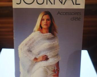 "Book: ""Journal"" summer accessories patterns"