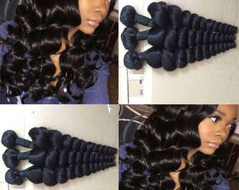Set of 3 Brazilian Loose Weave weaves