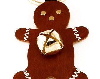 Gingerbread Door Hanger with bell
