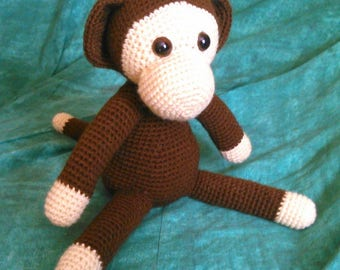 Cute little monkey Amigurumi crochet