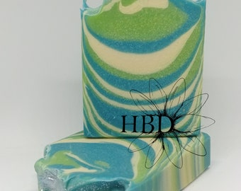 Shave and A Haircut Goat Milk Soap (1 bar)