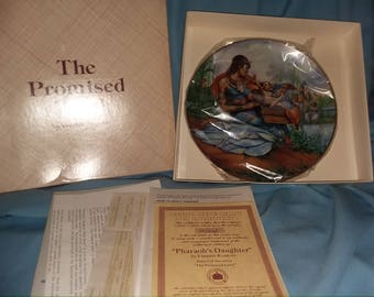 The Promised Land collector plate, Yiannis Koutsis, collector plate, religious collector plate,