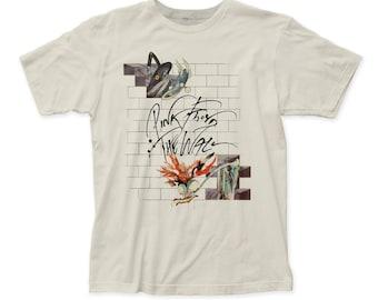 Pink Floyd Wife & Teacher Soft 30/1 Men's Cotton Tee (PF53) White