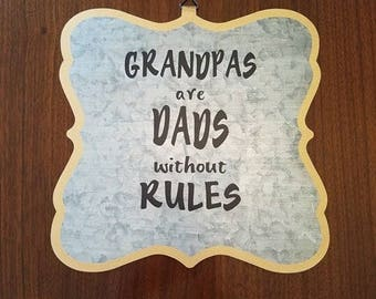 Grandpas sign