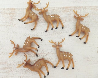 Woodland Deer ~ Baby Shower, Birthday Party Decor ~ Cupcake Toppers ~ Party Favors ~ Craft Projects ~ 12 Count