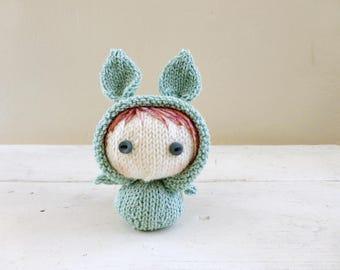 Mini Bunny Baby Rikki, Cute Stuffed Animals, Baby Doll
