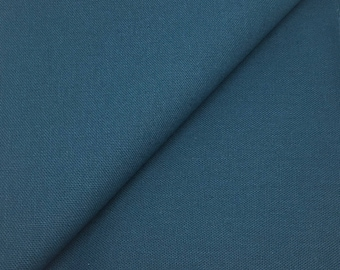linen heavy - 280cm (blue duck), weight 250gr M2, French brand Linder weaving meter