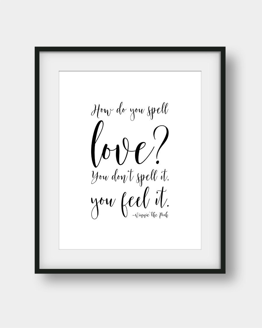 Love Spell Quotes 60% Off How Do You Spell Love You Don't Spell It You Feel