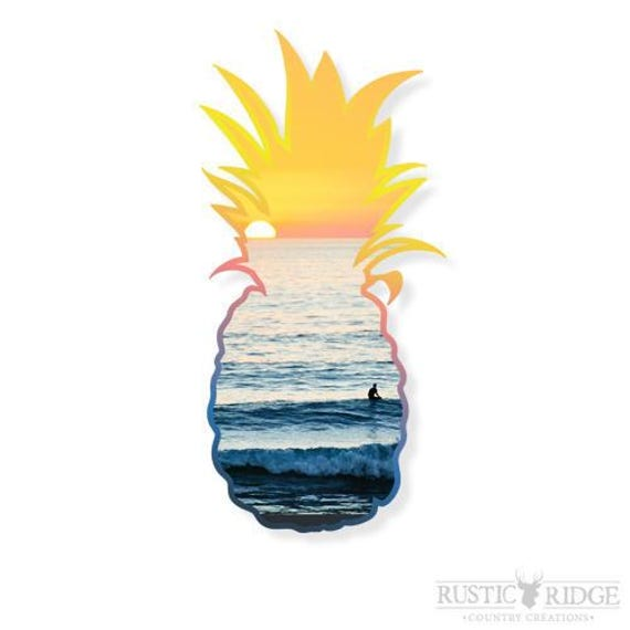 Pineapple decal pineapple sticker vinyl decal laptop decal macbook decal girly decal laptop sticker car decal vinyl stickers