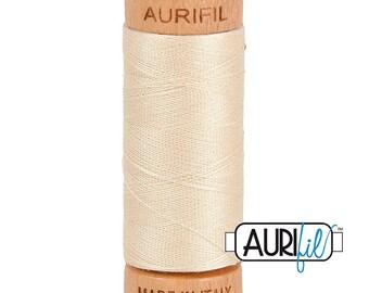 Aurifil 80wt -  Lt Beige 2310