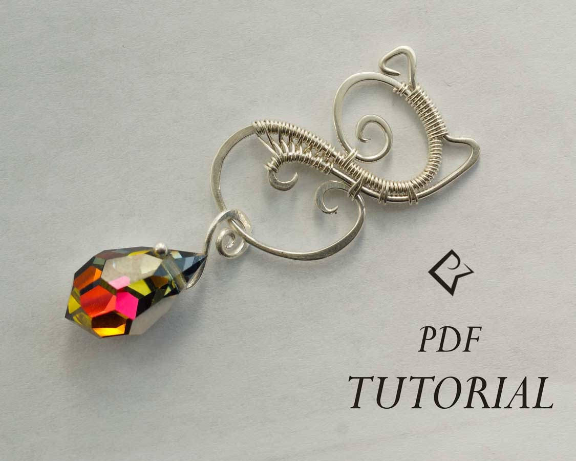 Wire Wrap tutorial, PDF tutorial, Wire wrapping pendant tutorial ...
