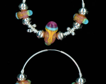 Colorful Endless Hoops