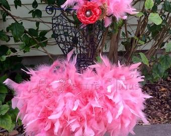 Feather tutu, newborn tutu, feather skirt, tutu skirt, tutu, photo prop, baby clothing, princess tutu, angel tutu, baby photo prop, baby