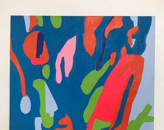 Original 'Esme' Acrylic on Canvas