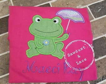 Froggy Embroidered Shirt