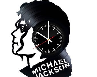 Michael Jackson Music Vinyl Record Wall Clock - Get unique home wall decor - Gift ideas for men and women